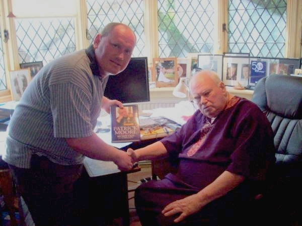 Lee Osborne and Patrick Moore